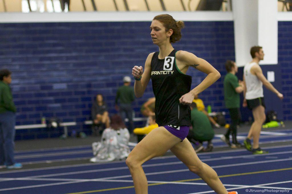 Julie McGilpin 1500m