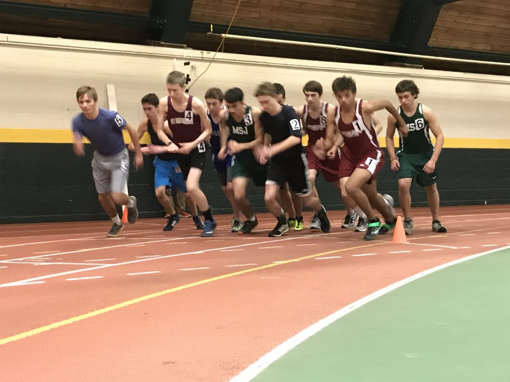 Boys 1 Mile Run