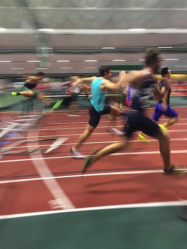 Dartmouth Relays 60m Hurdle Finals